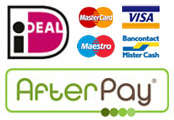 Sportrusten - Webshop - Betaal met iDEAL, credit card, AfterPay, Bancontact, KBC/CBC, Belfius Direct Net, ING Home'Pay