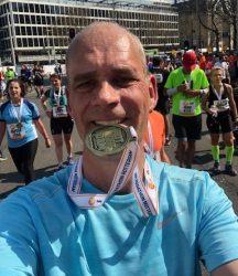 Mijn tweede marathon met Sportrusten en weer een PR