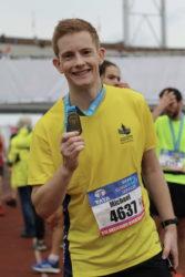 Op de marathon heb ik 27 minuten van mijn record afgelopen (3.16.49), mede dankzij Sportrusten.