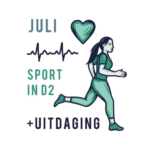 Sportrusten Jaarprogramma - Juli: Sport in D2