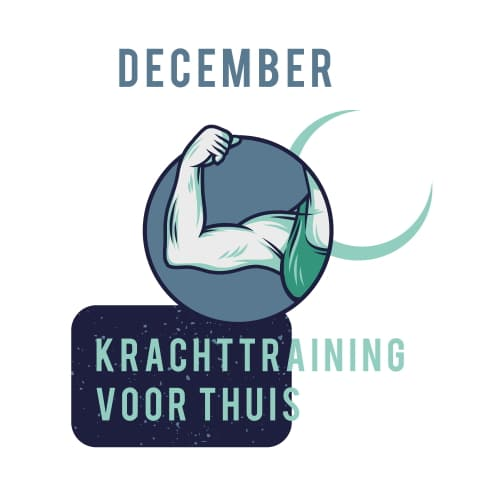 Sportrusten Jaarprogramma - December: Krachttraining voor thuis