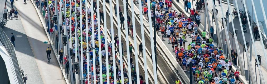 Opvallend: hoe vergaat het 14K lopers bij de marathon?